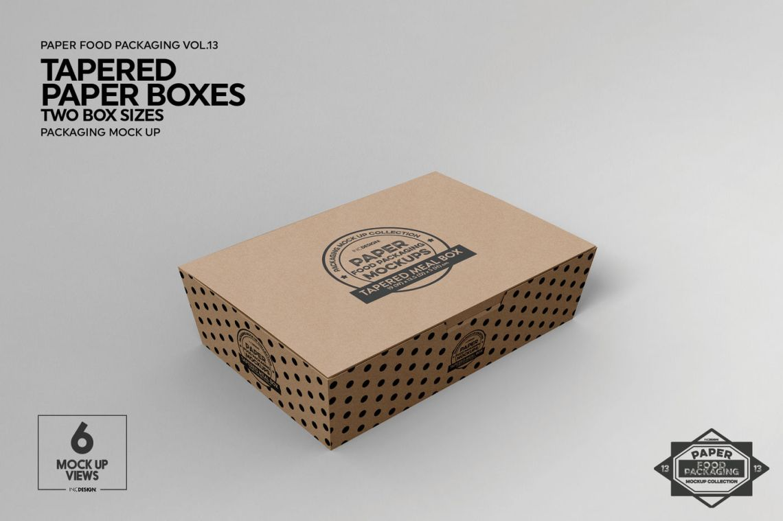 Download Food Box Packaging Mockup Free : Food box packaging ...