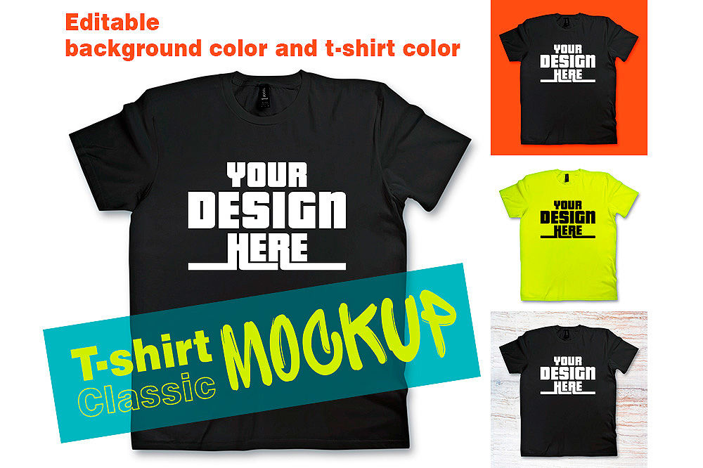 Download Free Psd Shirt Mockup Yellowimages
