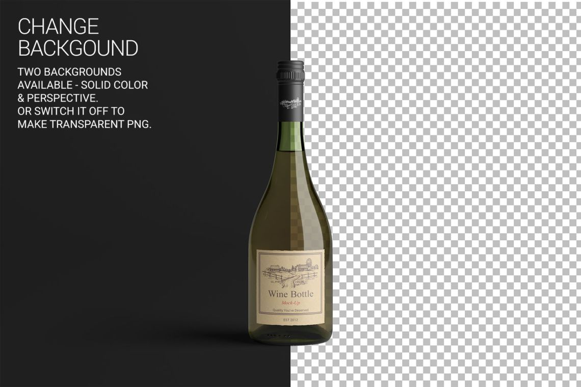 Download Clear Plastic Bottle With Glossy Cap Mockup Front View Yellowimages