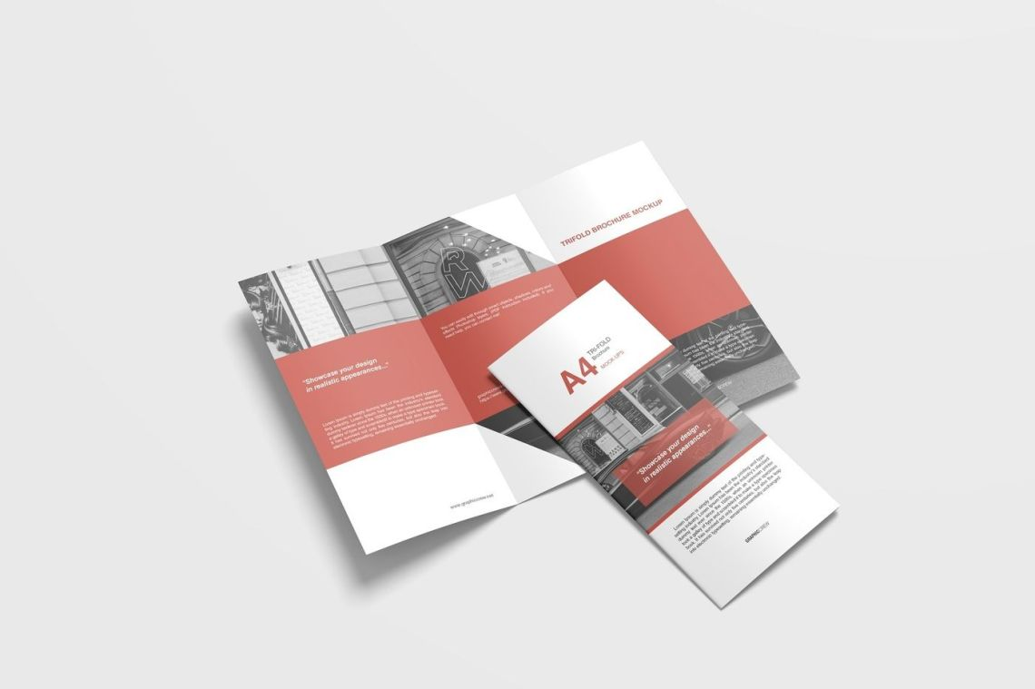 Download A4 Booklet Mockup Free Psd Yellowimages