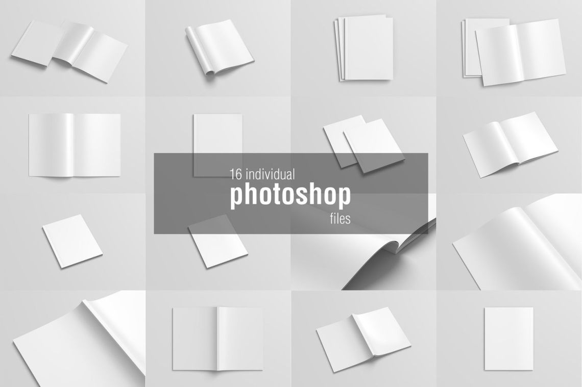 Download Free Book Mockup Template Psd Yellow Images