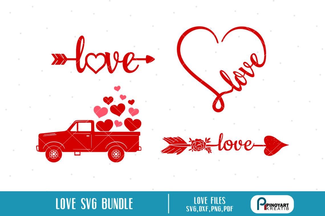 Download Love svg Bundle, Love Heart svg, Love Arrow svg ...