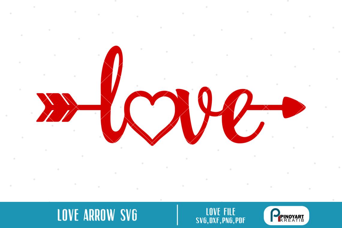 Download Love Arrow svg, Love svg, Arrow svg, Valentine Arrow svg ...
