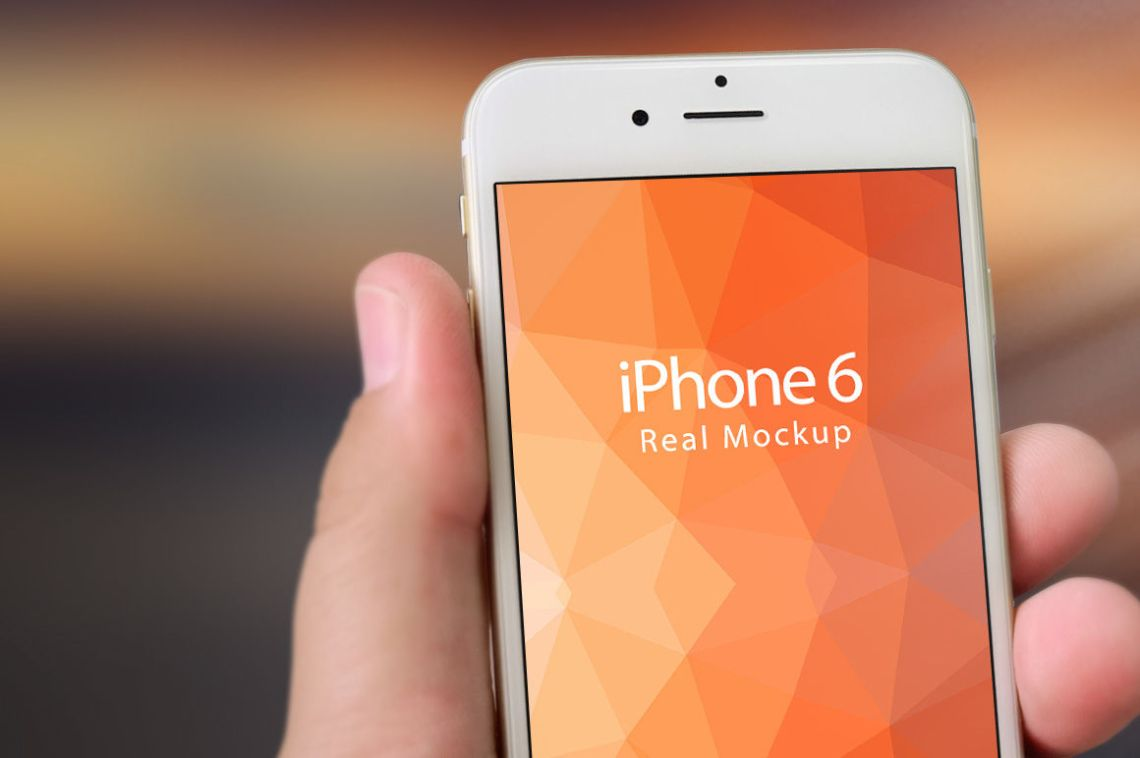 Download Iphone 6 Black Mockup Psd Yellowimages