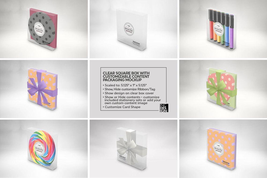 Download Box Cupcake Mockup Yellowimages