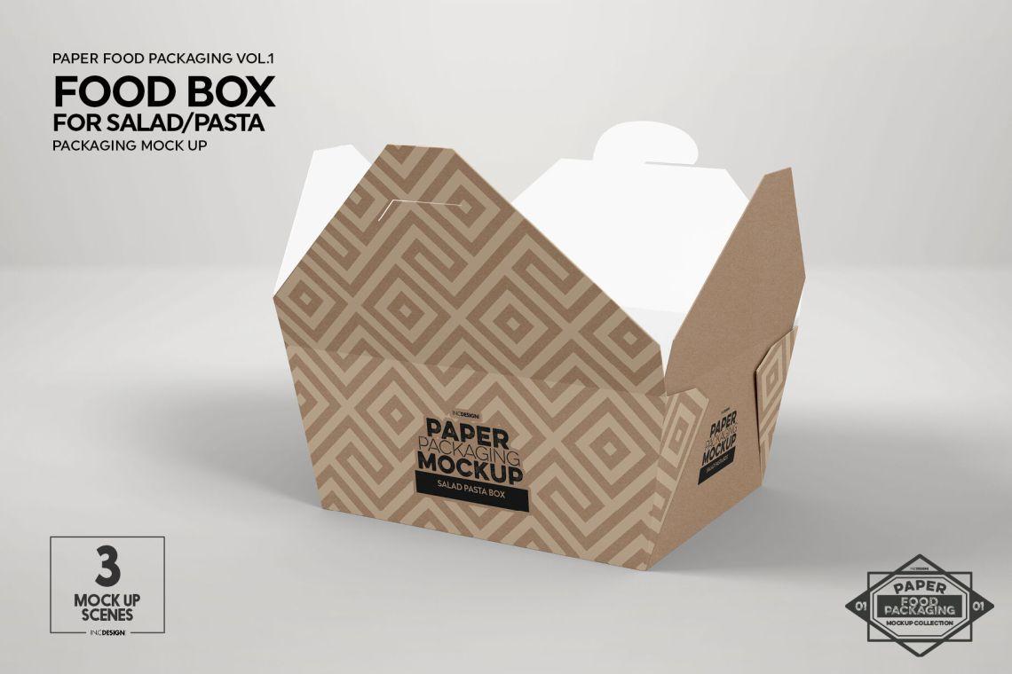 Download Cellentani Pasta Box Mockup Yellowimages