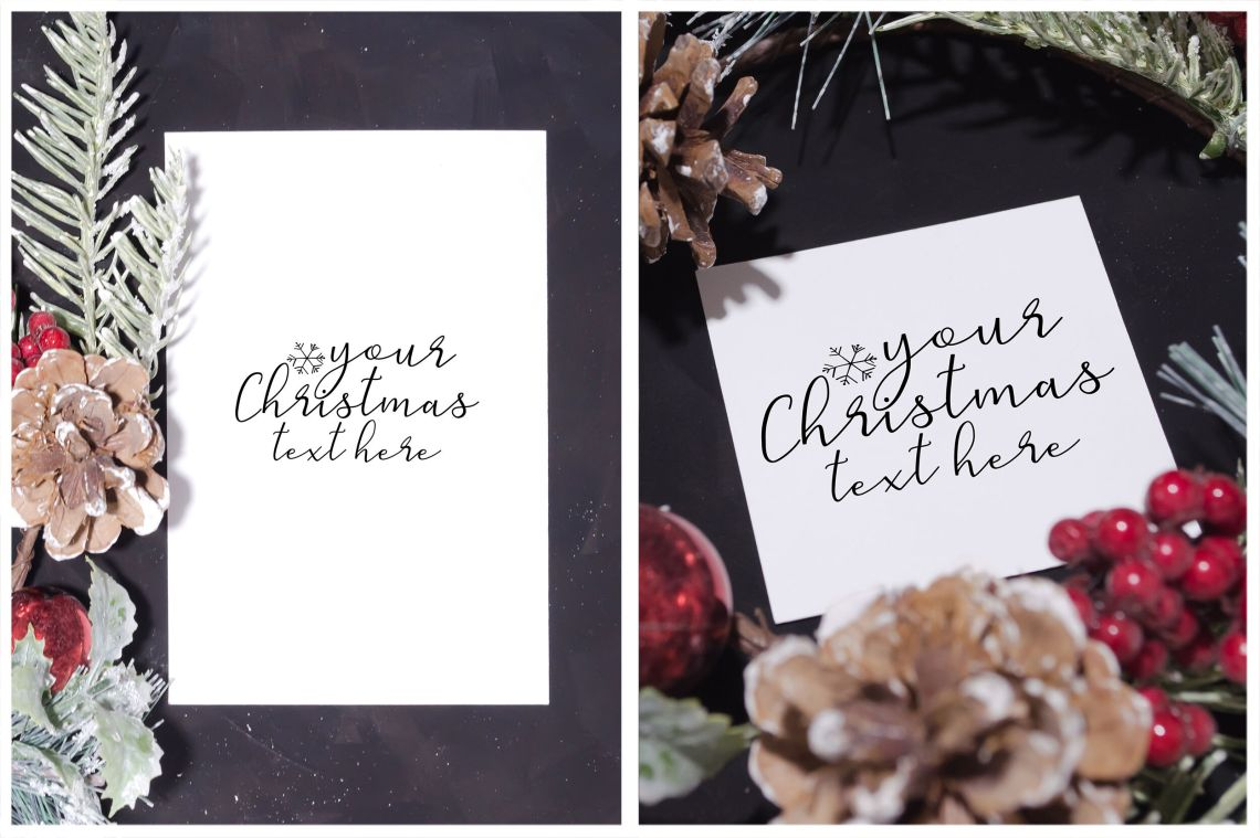 Download Christmas Mockup Psd Yellowimages