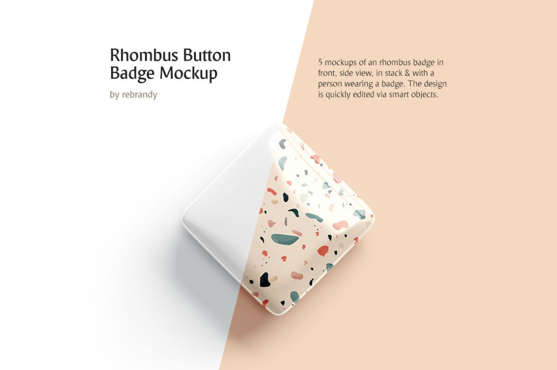 Download Glossy Box Label Mockup Half Side View Yellowimages