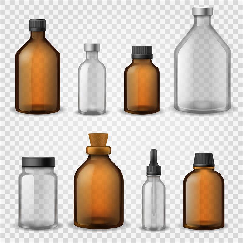 Download Dark Amber Glass Cosmetic Jar Mockup Yellowimages