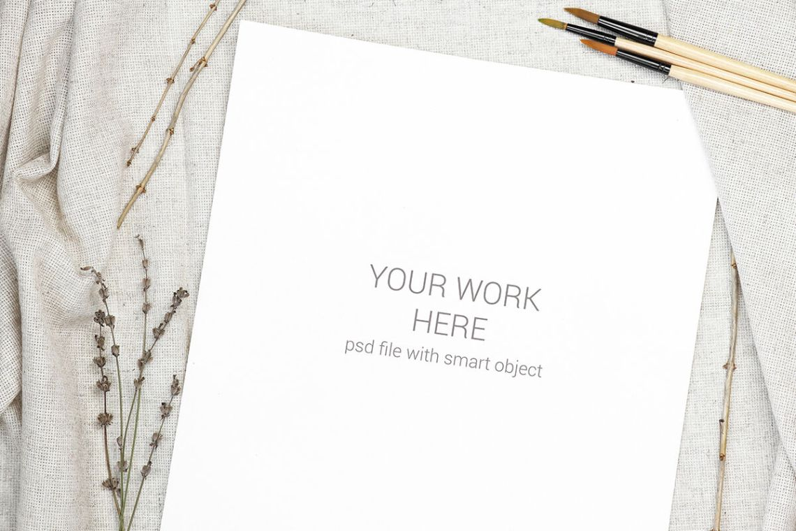 Download Stationery Set Mockup Psd Free Yellowimages