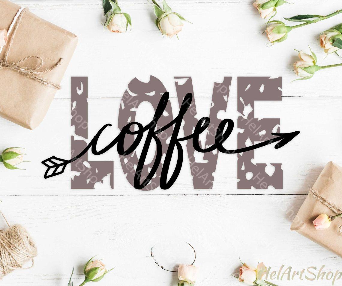 Download Love Coffee svg, Distressed svg, Grunge svg, Coffee lover ...