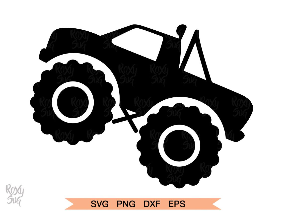 Download Truck SVG, Monster Truck svg, Truck Clipart, Monster truck ...