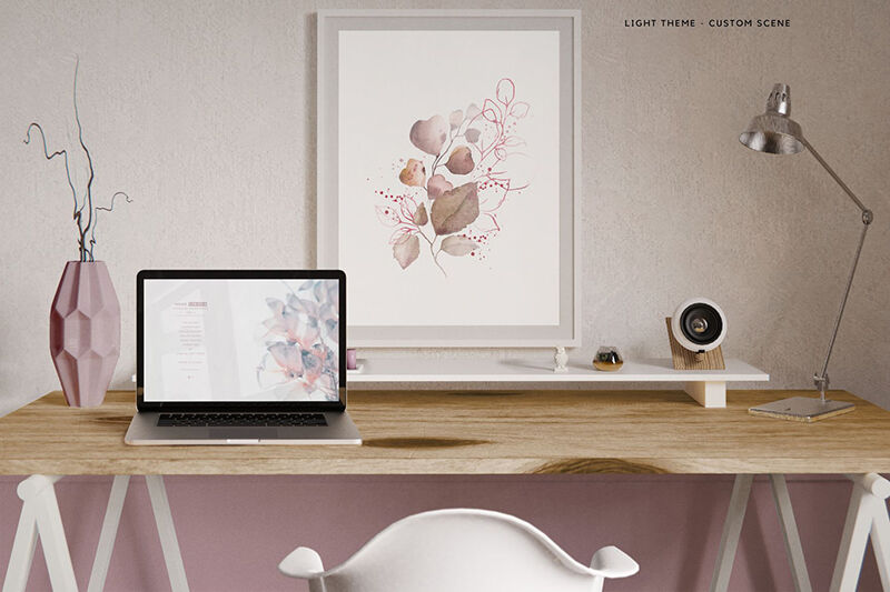 Download Animated Imac Pro Psd Mockup Yellowimages