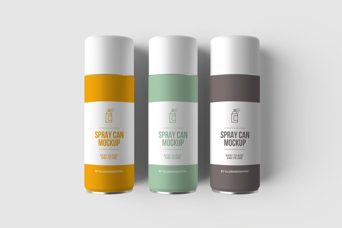 Download Spice Jar Salt Mockup Front And Back Views Yellowimages