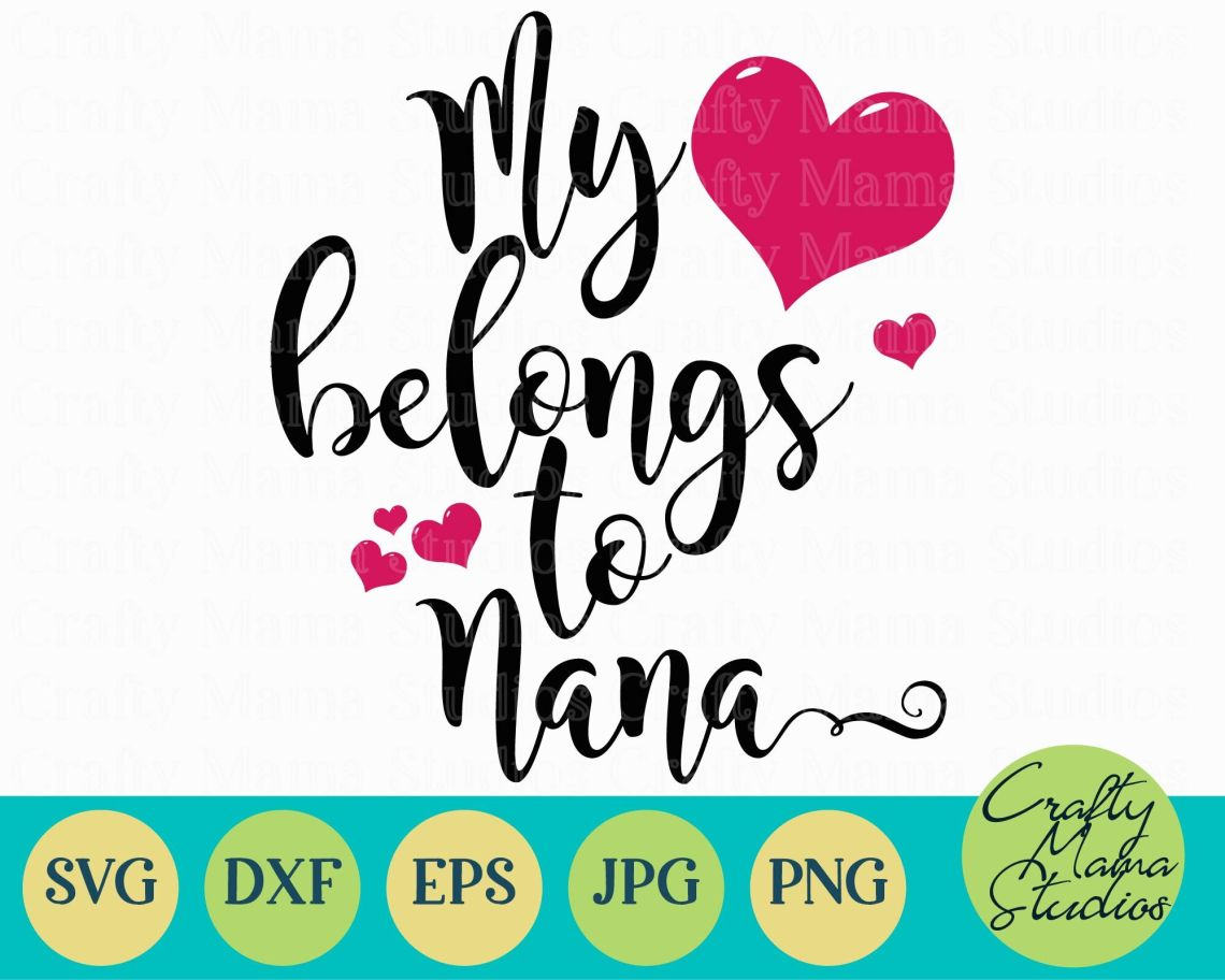 Download Download Love Grandma Svg for Cricut, Silhouette, Brother ...