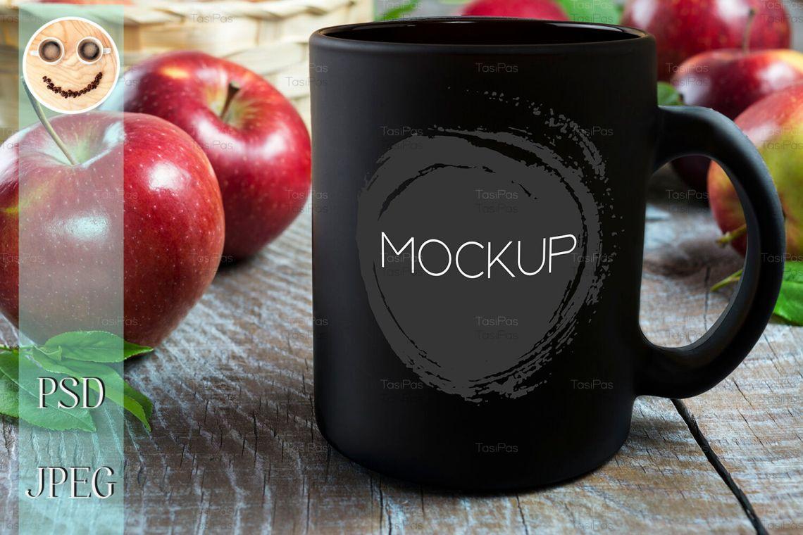 Download Black Mug Mockup Psd Yellow Images