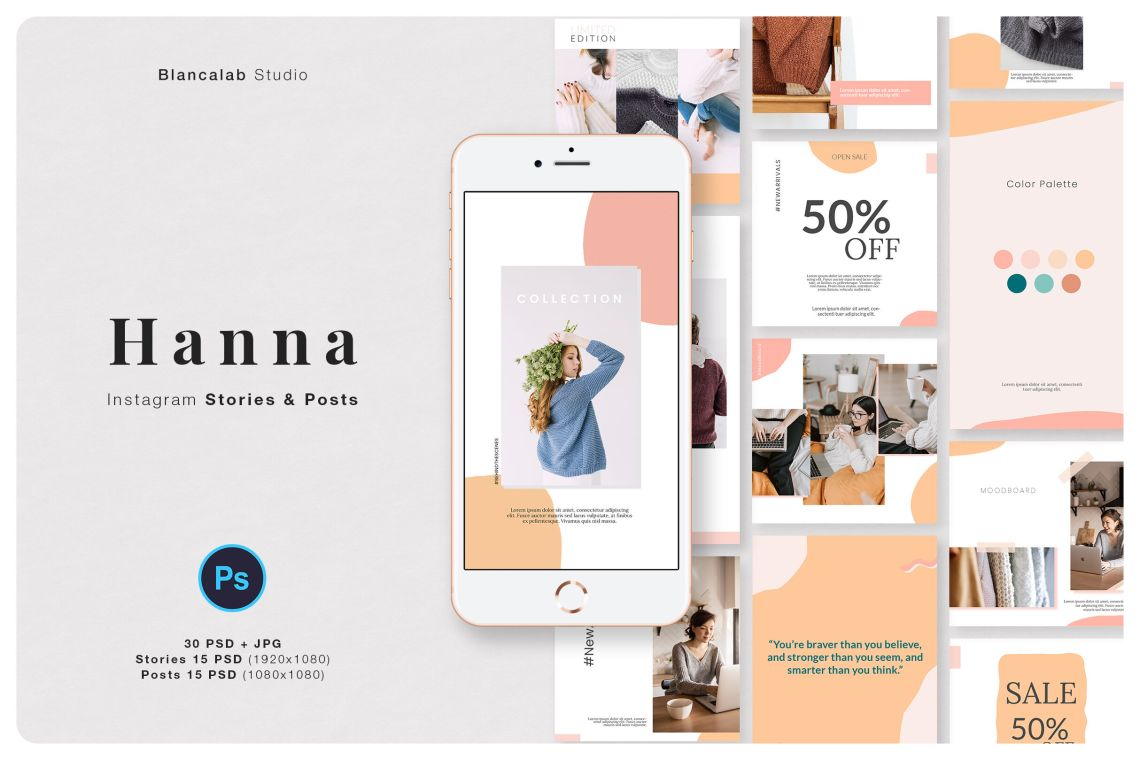 Download Mockup Instagram Post Psd Yellowimages