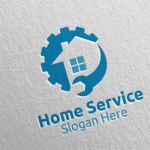 Real Estate And Fix Home Repair Services Logo 16 By Denayunethj Thehungryjpeg Com