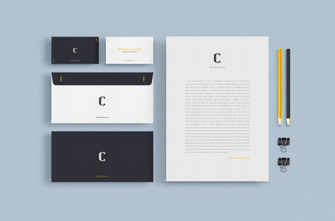 Download Branding Mockup Free Psd Yellowimages