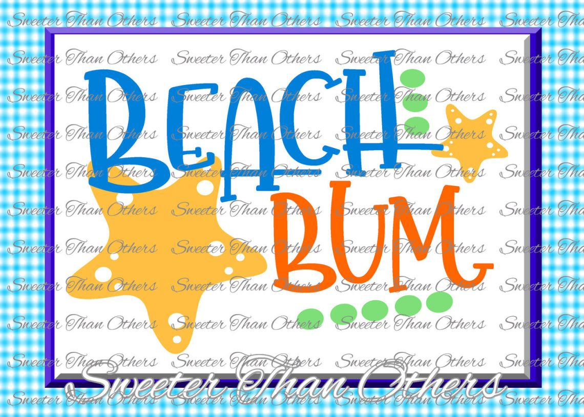 Download Beach Svg Beach bum svg, Beach pattern, Summer Dxf ...