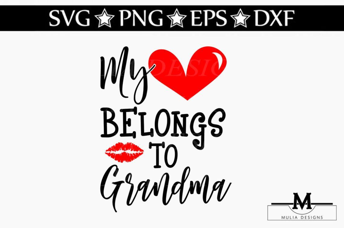 Download Download Love Grandma Life Svg for Cricut, Silhouette ...