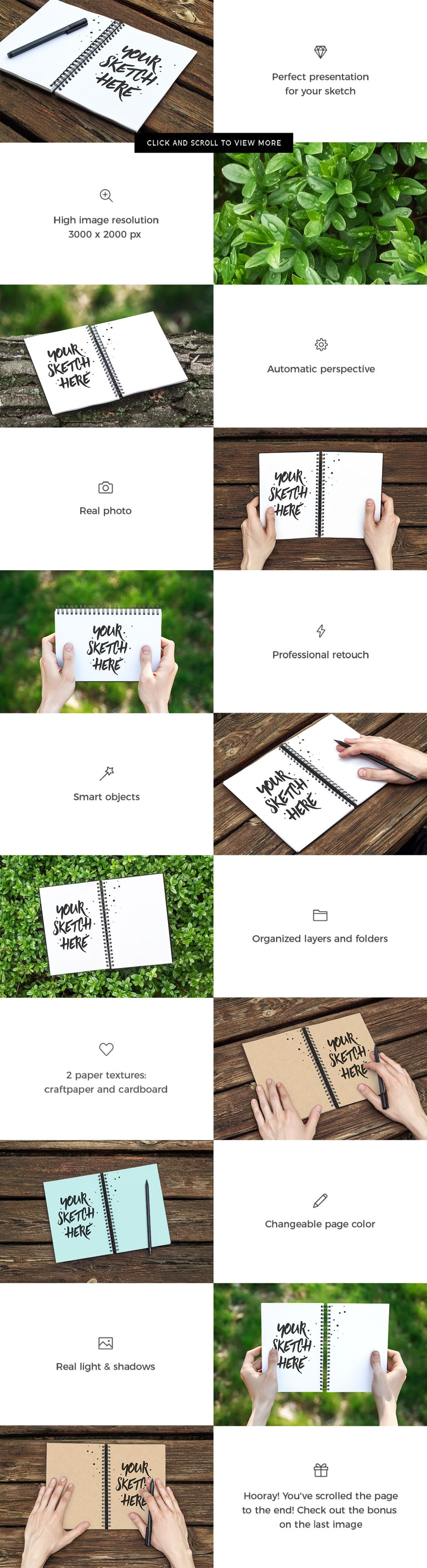 Download Behance Mockup Psd Free Yellowimages