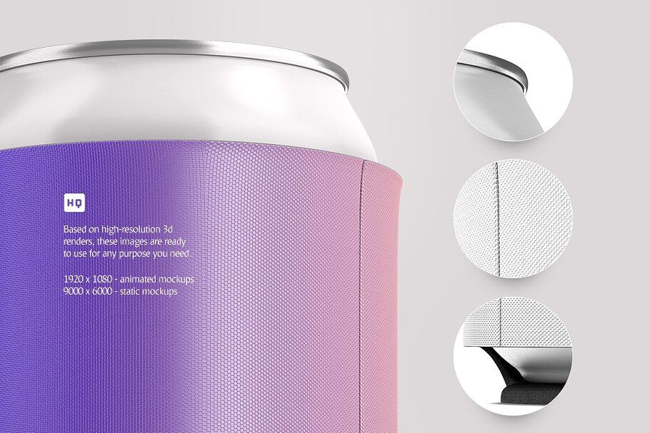 Download Two Aluminium Cans With Metallic Finish Mockup Yellow Images