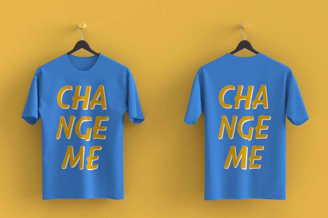 Download T Shirt Mockup Download Psd Yellowimages