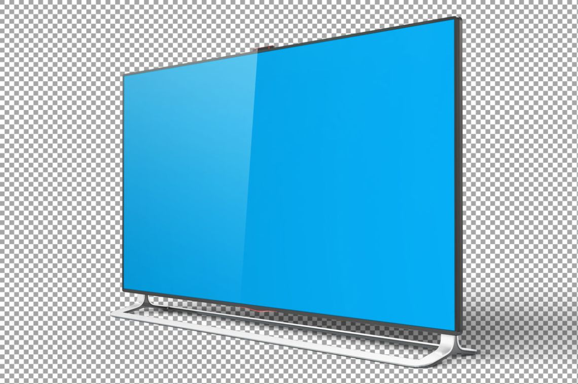 Download Tv Mockup Free Psd Yellow Images
