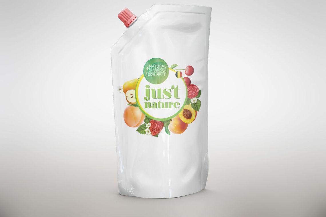 Download Plastic Jug Orange Juice Mockup Yellowimages
