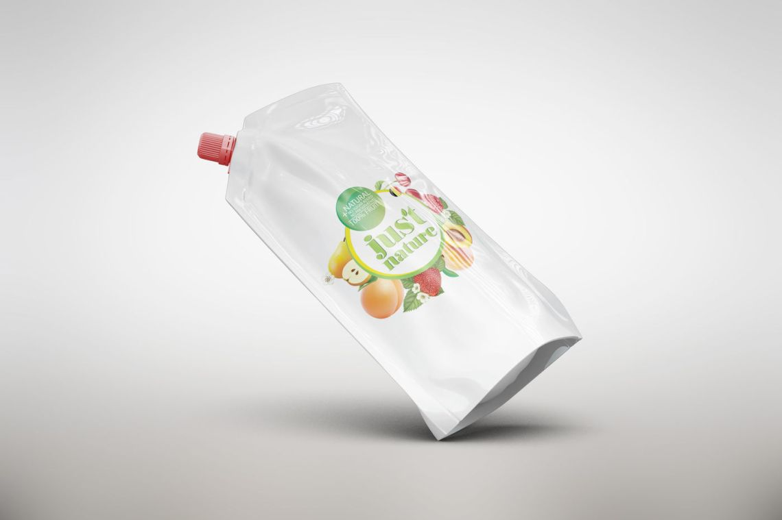 Download Plastic Bag With Colored Sweet Peppers Mockup Yellowimages