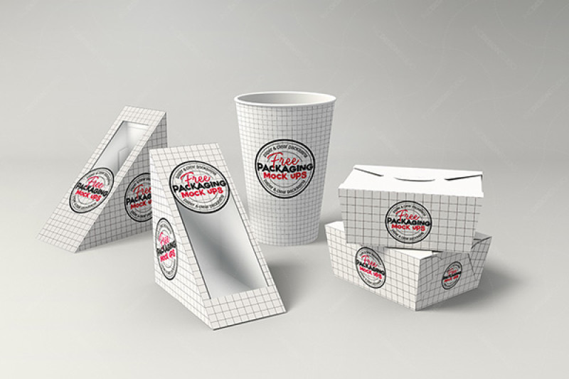 Download Fast Food Mockup Psd Yellowimages