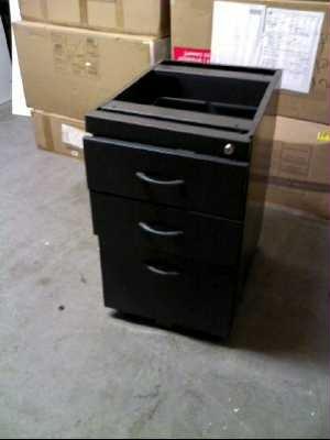 caisson de bureau 3 tiroirs fer nimes