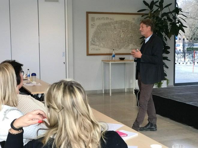 Thomas Bodström föreläser, assistentmöte i Socialtjänsten