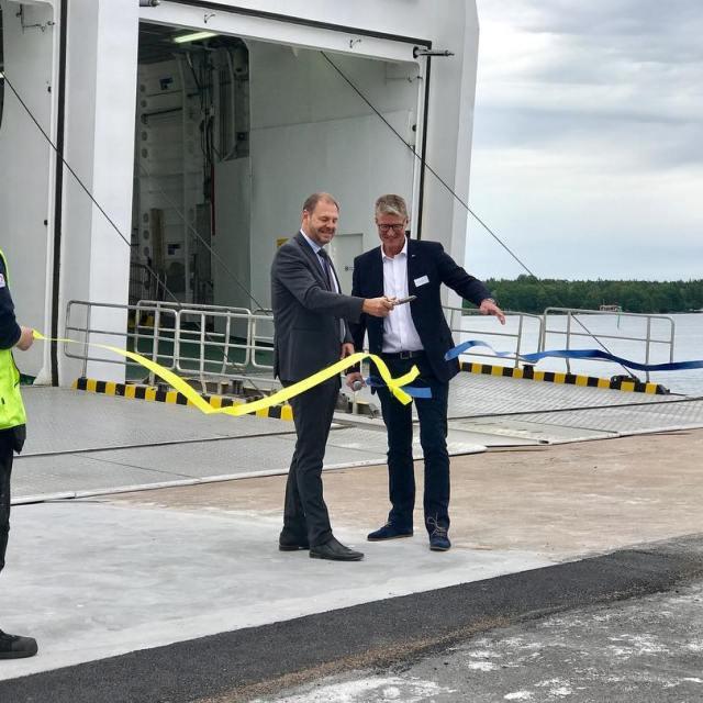 Thomas Kronsthl KSordfrande i Vstervik och Christer Bruzelius VD Destinationhellip
