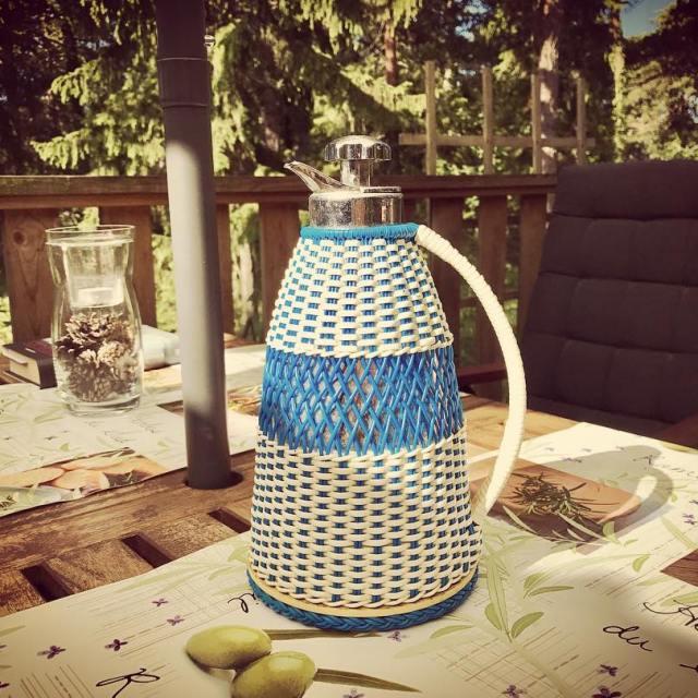 Nybryggt kaffe klart fr vra sommargster!  semester retro tvkannahellip