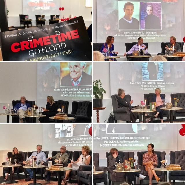 Dag 1 p crimetimegotland blev finfin! Flera intressanta samtal somhellip