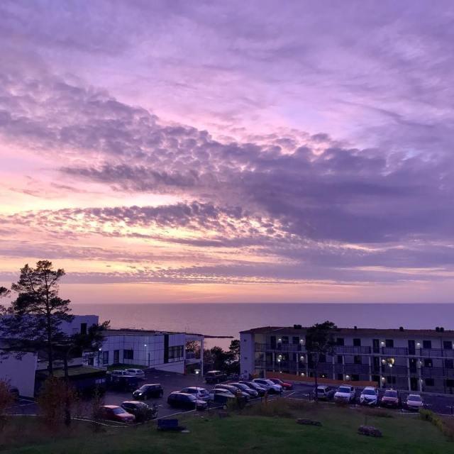 Det var en magisk himmel ikvll Igen  sunset balconywithaview