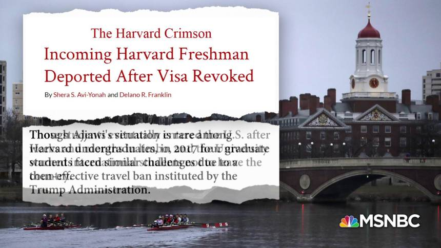 Harvard Student from Lebanon Denied Entry into U.S.