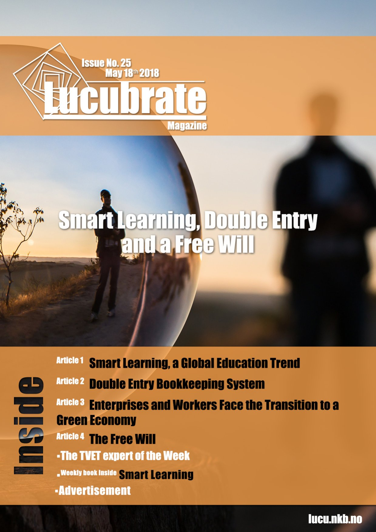 Lucubrate Magazine Issue 25 2018 Smart Learning And A Free