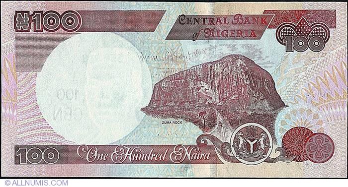 100 Naira 2005, 1999-2014 Issue - 100 Naira - Nigeria - Banknote ...