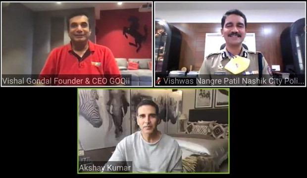 अक्षय कुमार और नासिक सिटी पुलिस ने अपने पुलिस बल की भलाई की निगरानी के लिए केंद्रीकृत ऑनलाइन स्वास्थ्य प्रणाली शुरू की
