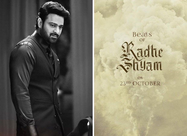 Radhe Shyam makers to release a Beats Of Radhe Shyam on Prabhas' birthday, October 23