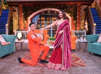 The Kapil Sharma Show:Kiara Advani brings home-baked cookies for the cast : Bollywood News – Bollywood Hungama