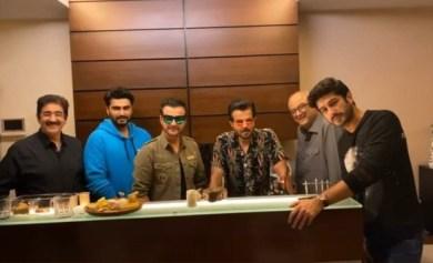 Anil Kapoor, Arjun Kapoor, Boney Kapoor celebrate Sanjay Kapoor's birthday with family gathering : Bollywood News – Bollywood Hungama
