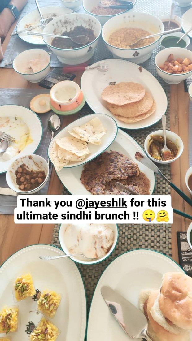 Anushka Sharma enjoys an authentic Sindhi brunch, thanks her friend