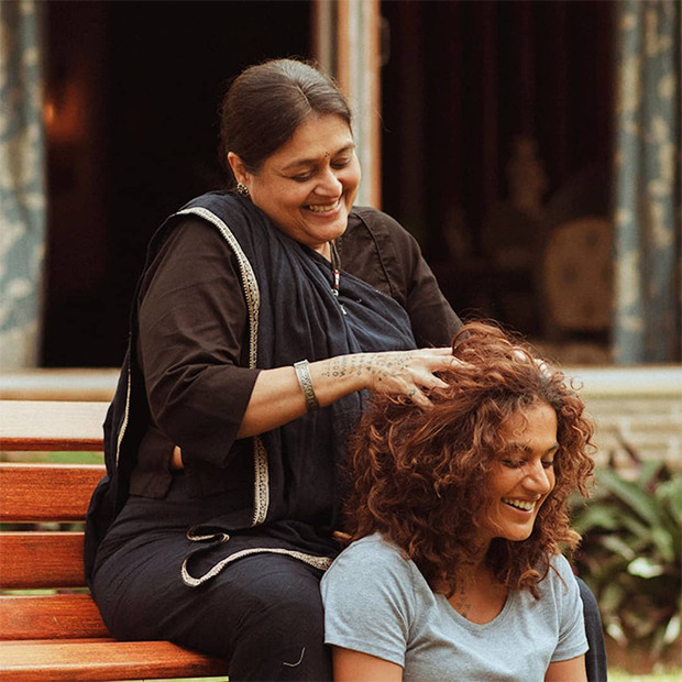 Supriya Pathak plays Taapsee Pannu's mother in Rashmi Rocket, first look unveiled : Bollywood News – Bollywood Hungama