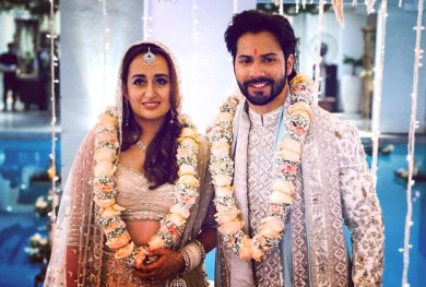 Varun Dhawan Natasha Dalal Wedding Shashank Khaitan shares a new photo of the newlyweds along with heartfelt message