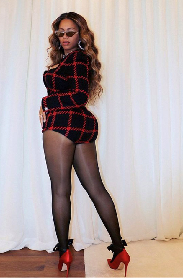 Beyoncé reigns supreme in tweed micro-ord set for her date night with Jay Z on their 13th wedding anniversary
