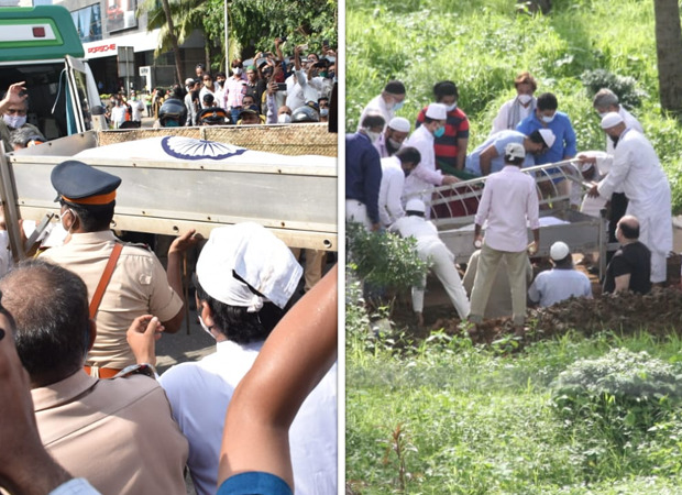Dilip Kumar's final journey: Legendary actor laid to rest in Juhu Qabarstan with full state honours